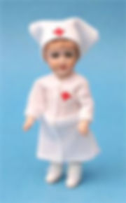 Nurse miniature Bleuette