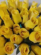 rose bud yellow