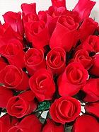 rose bud red