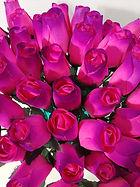 rose bud pink w purple