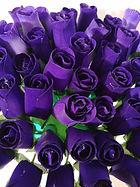 rose bud purple
