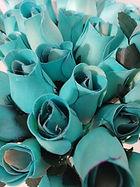 rose bud light blue