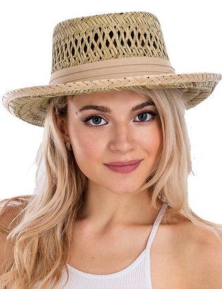 The Cutest Beige Straw Hat