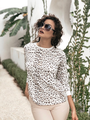 Wild About You Leopard Print Top