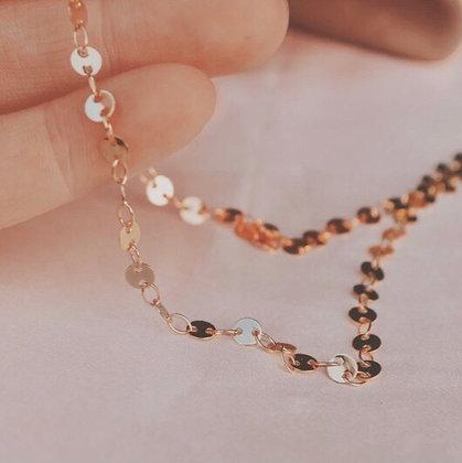 Duchess Disk Choker Necklace