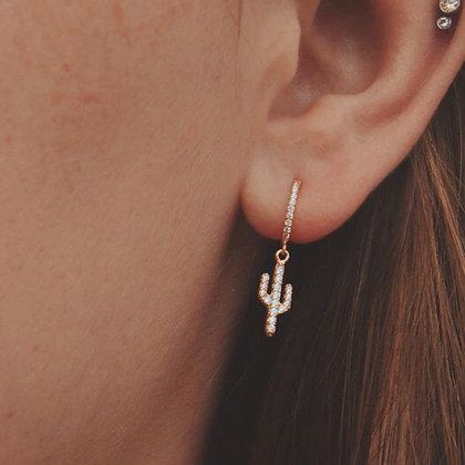 Nopal Cactus Earrings