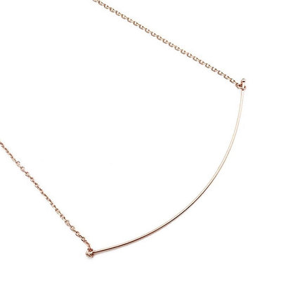 Willow Curve Bar Necklace