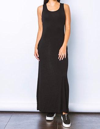 The Black Maxi Tank Dress