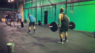 I got a new little toy today to help with some video content! Still getting the hang of it but I like it so far! Here's the 5:10pm crew in action with the first part of their WOD - 30 clean and jerks.
