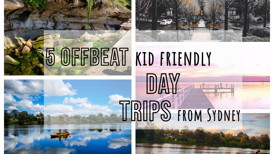 5 Offbeat kid friendly day trips in and around Sydney