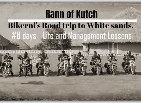A Road-trip to Rann of Kutch - #bikerni