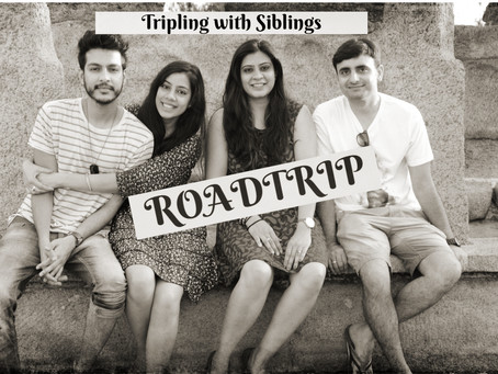 Tripling with Siblings -  A Road trip to Puducherry, India