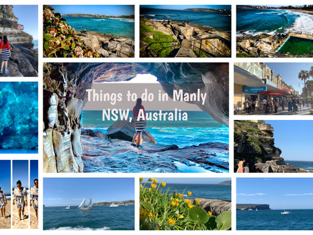 What to do at Manly, NSW, Australia?
