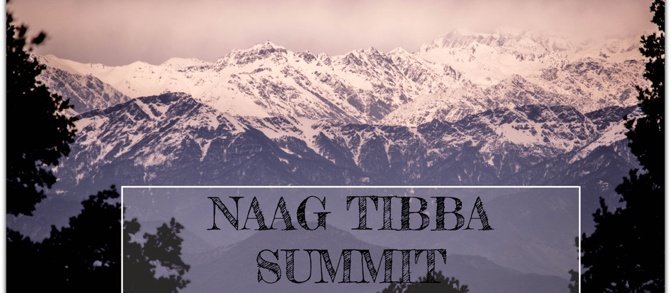 NAG TIBBA SUMMIT - When we climbed a mountain to meet someone.