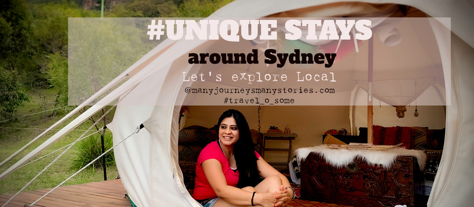 Celebrate Valentine's with your partner at these Unique and Romantic stays around Sydney :)