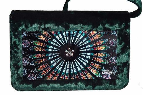 """Frame bag model """"Gothic"""" - VELVET version"""