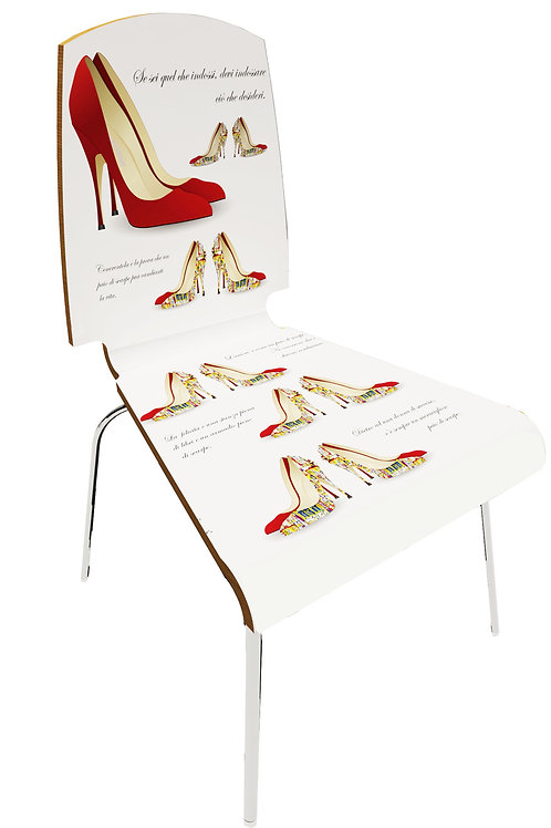 Personalized chair Retail - Shoes shop