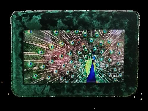 """Frame bag model """"Peacock"""" - VELVET version"""