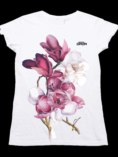 "T-shirt woman ""Magnolia"""