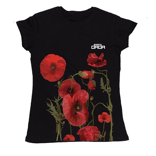 "T-shirt woman ""Poppies"""