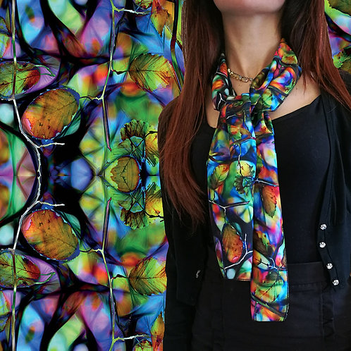 "Foulard ""Colorful nature"""