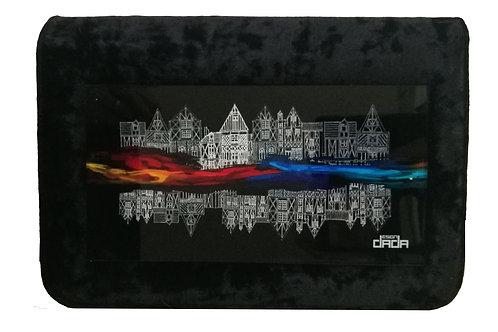 "Frame bag model ""Colors and architectures"" - VELVET version"