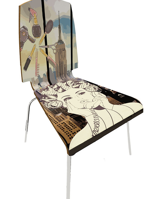 Personalized chair Retail - Hairsylist shop