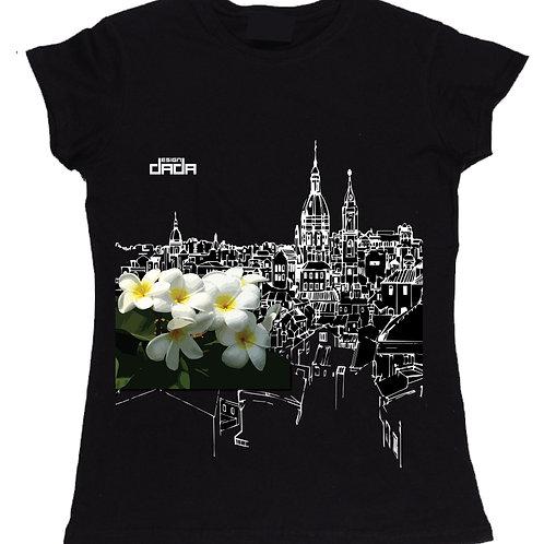 "T-shirt woman ""City flowers Palermo"""