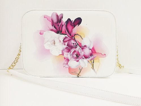 "Pochette ""Watercolor Magnolia"""
