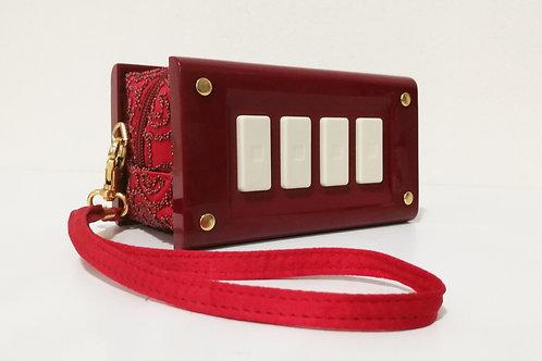 """Switch bag"" - burgundy"