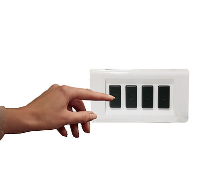 Light switch plates for critical fashion and eco friendly accessories