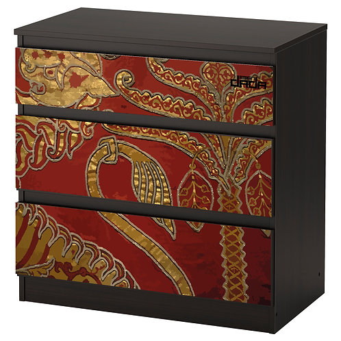 """Personalized drawers """"Roger's mantle"""", limited edition for Royal Palace o"""