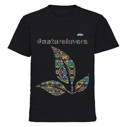 "T-shirt man ""Colorful nature"""