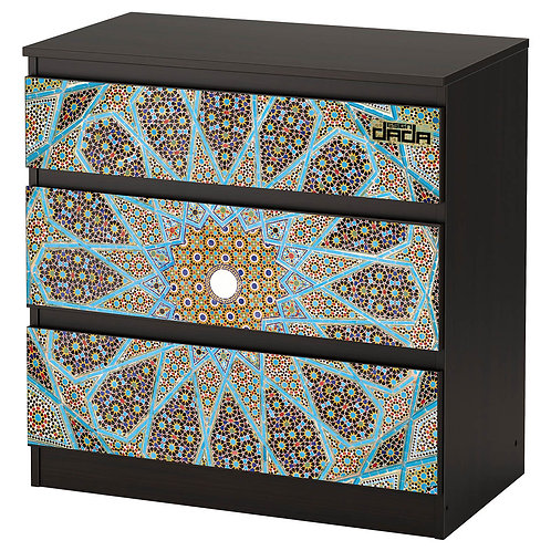 """Personalized drawers """"Blue Islamic"""""""