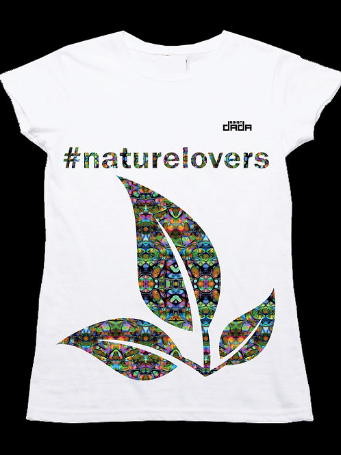 """T-shirt woman """"Colorful nature"""""""