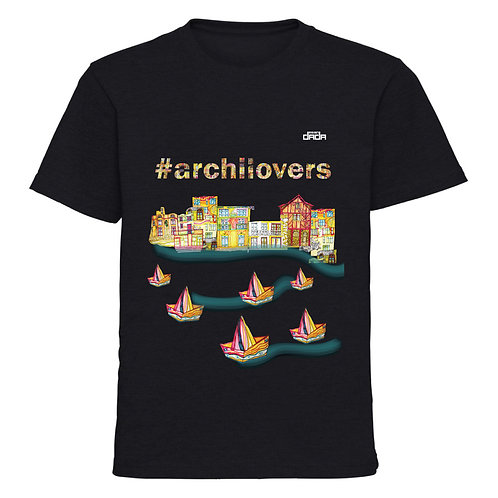"T-shirt man ""Colorful architecture"""
