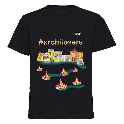 "T-shirt man ""Colorful architecture"""