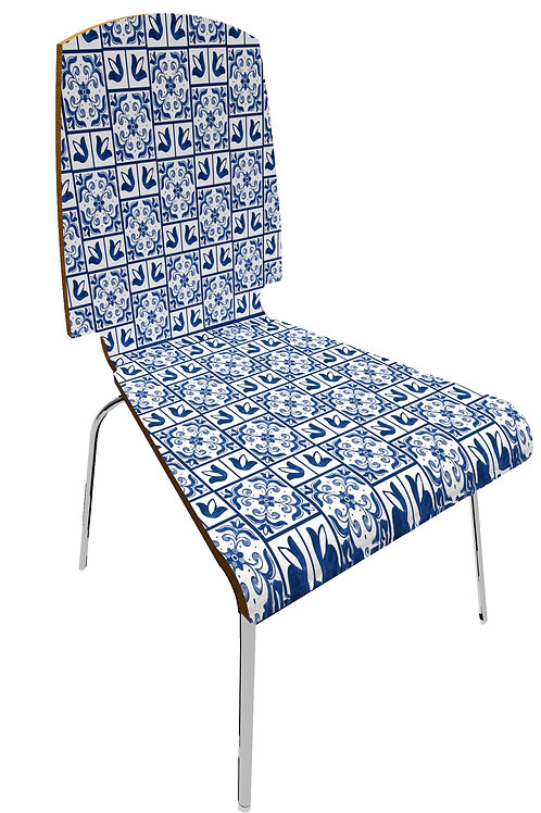 """Personalized chair """" Maiolica"""""""
