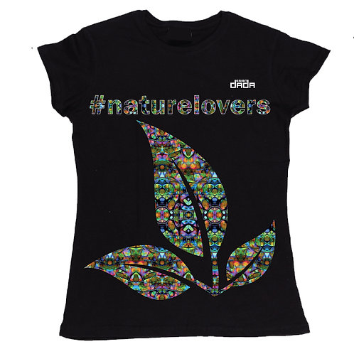 "T-shirt woman ""Colorful nature"""