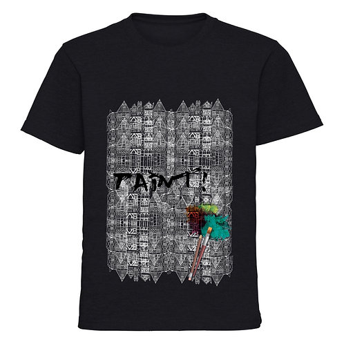 """T-shirt man """"Brushes and architectures"""""""