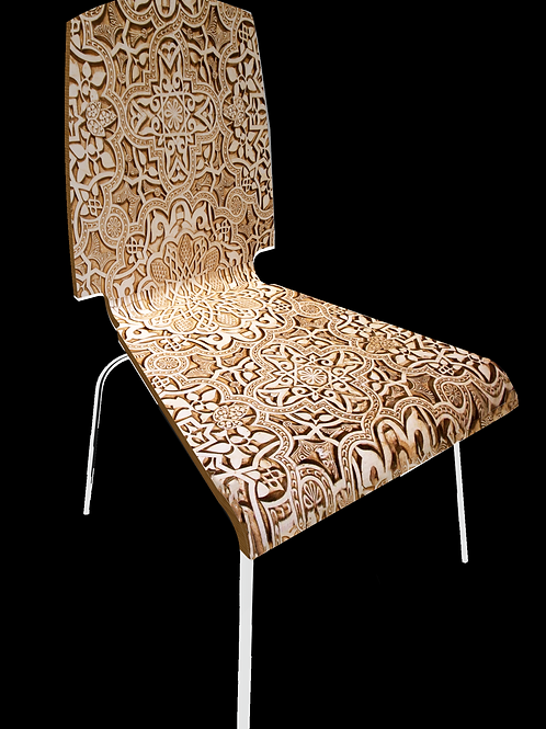 """Personalized chair """"Islamic"""""""