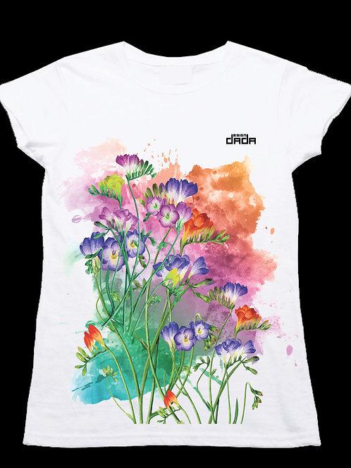 "T-shirt woman ""Colorful fresie"""