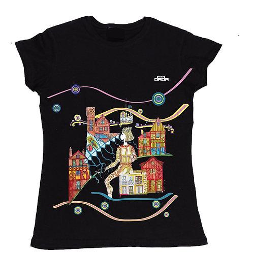"T-shirt woman ""In praise of dreams"""