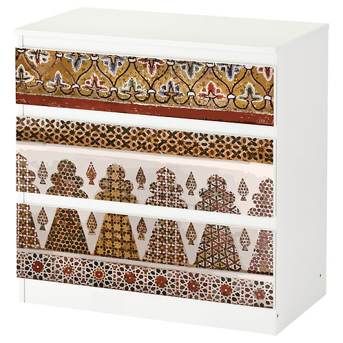 """Personalized drawers """"Mural decor"""",  limited editionfor Palatine Chapel"""