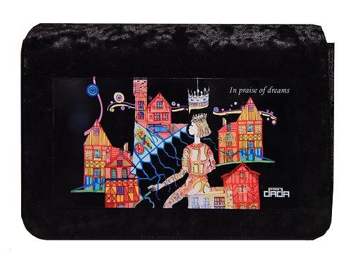 """Frame bag model """"In praise of dreams"""" - VELVET version"""