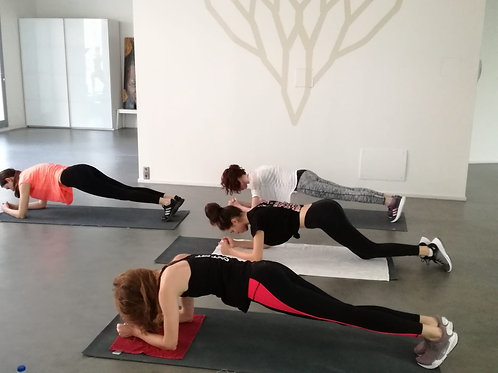 Online zoom group personal training
