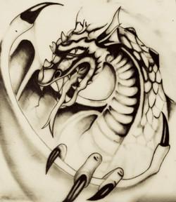 tattoo drago