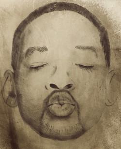 tattoo realistico volto Will Smith