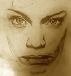 tattoo realistico viso donna lacrima