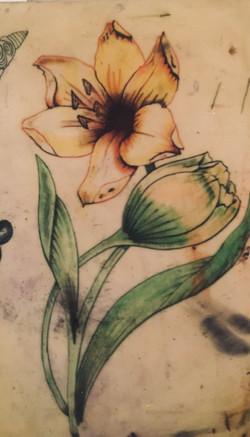 tattoo fiore